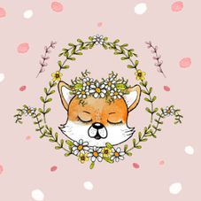 #1107B The Happy Fox